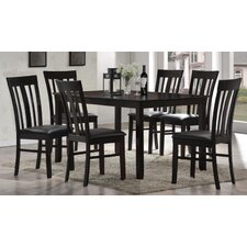 <strong>New Spec Inc</strong> Cafe 7 Piece Dining Set