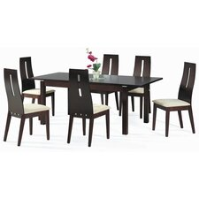 <strong>New Spec Inc</strong> Cafe-30 Soho 7 Piece Dining Set