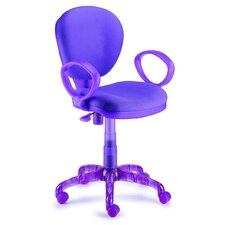 I-Chair Mid-Back Task Chair with Arms
