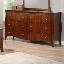 Ontario 6 Drawer Dresser