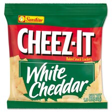 <strong>CHEEZ-IT</strong> White Cheddar Crackers