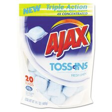 <strong>Ajax</strong> Toss Ins Powder Laundry Detergent (Set of 4)