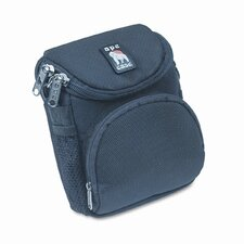 Ape Case AC220 Camera Bag, Nylon, 4-1/8 x 3-5/8 x 6-3/4, Black