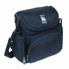 Ape Case 250 Video/Camera Bag, Nylon, 7-1/8 x 4-3/8 x 7-3/8, Black