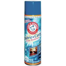 Fabric and Carpet Aerosol Foam Deodorizer - 15 oz