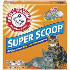 Super Scoop Clumping Unscented Litter 14 Pound