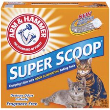 Super Scoop Clumping Unscented Litter 20 Pound