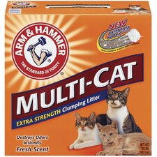 Multi-Cat Extra Strength Litter 20 Pound