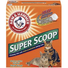 Super Scoop Clumping Fresh Scent Litter 28 Pound