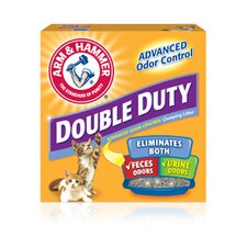 Double Duty Clumping Litter