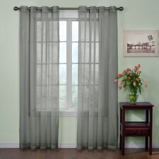 Curtain Fresh™ Eyelet Sheer Curtain Single Panel