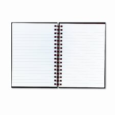 Twinwire Hardcover Notebook, Legal Rule, 5-7/8 X 8-1/4, 70 Sheets