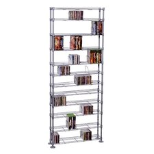 Max Steel 11 Tier Multimedia Storage Rack
