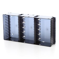 <strong>Atlantic</strong> Disc Module 21 DVD/45 CD Multimedia Tabletop Storage Rack