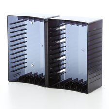 Disc Module 12 DVD/26 CD Multimedia Tabletop Storage Rack