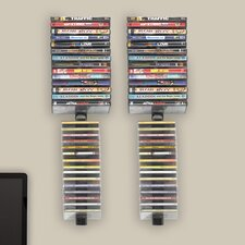 <strong>Atlantic</strong> Stix Wall Mounted Multimedia Wire Rack (Set of 4)