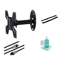 "Articulating Arm/Swivel/Tilt Wall Mount Kit for 10""- 37"" Flat Panel Screens"