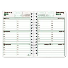 Duraglobe 2013 Hard Cover Weekly Planner