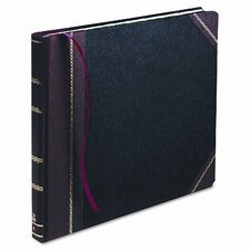 Columnar Book, Record Rule, BLK Cover, 300 Pgs, 14-1/8 x 10-7/8