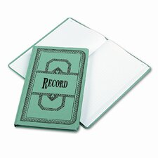 Record/Account Book, Record Rule, BE, 300 Pages, 12-1/8 x 7-5/8, 2012