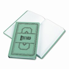 Record/Account Book, Record Rule, BE, 500 Pages, 12-1/8 x 7-5/8, 2012