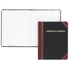 Laboratory Notebook, Record Rule, 10-3/8 x 8-1/8, WE, 150 Sheets