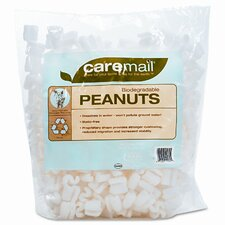 CareMail Biodegradable Peanuts, .31 Cubic Feet