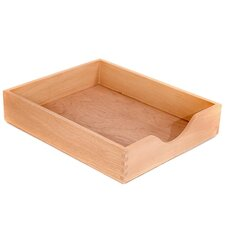 <strong>Carver Wood Products, INC.</strong> Wood Desk Tray, Letter Size