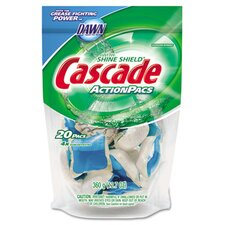 <strong>Cascade®</strong> Action Pacs, Blue, 12.7 oz. Reclosable Bag