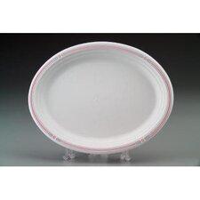 Classic White Molded Fiber Platters (500 per order)