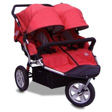 <strong>Tike Tech</strong> City X3 Double Swivel Stroller