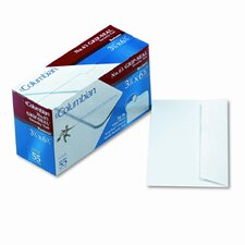 Grip-Seal Inside-Tint Business Envelopes,#6-3/4,White Wove,55/bx