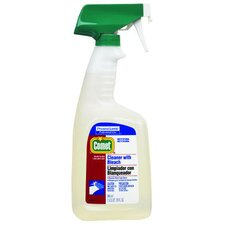 RTU Cleaner with Bleach Liquid Trigger Spray Bottle
