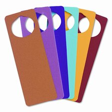 <strong>Creativity Street®</strong> WonderFoam Door Knob Hangers, 6 Asst Colors