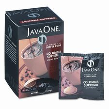 Single Cup Coffee Pods, Columbian Supremo, 14 Pods/Box