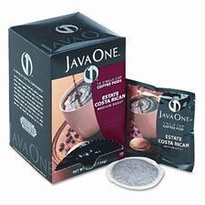 Single Cup Coffee Pods, Estate Costa Rican Blend, 14 Pods per Box