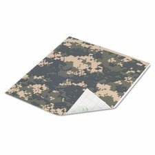 "10"" x 8.5"" Digital Camo Tape Sheet (Set of 12)"