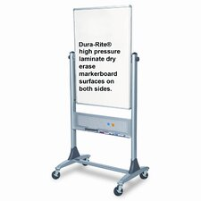 "Best-Rite® Reversible 3' 4"" x 2' 6"" Whiteboard"