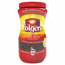 <strong>Folgers</strong> Instant Classic Roast Coffee Crystals (16 oz.)