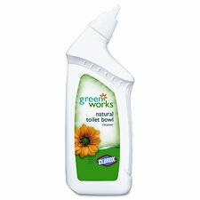 Green Works Toilet Cleaner, 24oz Bottle