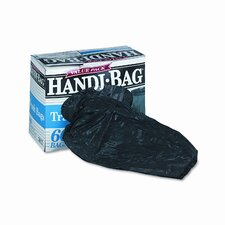 Handi-Bag Super Value Packs, 30 gallon, .7mil, 36 x 29.5, Black, 60/bx