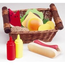 <strong>Anatex</strong> Play Food Picnic Lunch Basket
