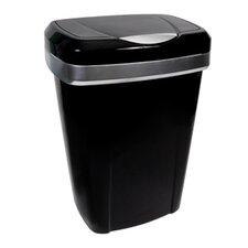 50-qt. Premium Touch Lid Wastebasket