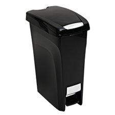 43.2-qt. Premium Slim Step on Wastebasket