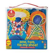 <strong>ALEX Toys</strong> One Two Tie My Shoe