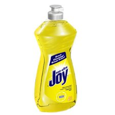 Lemon Dishwashing Liquid Bottle