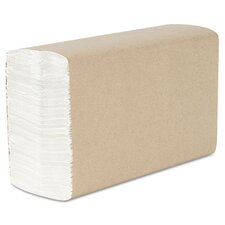 Kimberly-Clark Professional Scott Recycled C-Fold 1-Ply Paper Towels - 200 Towels per Pack / 12 Packs