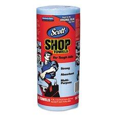 Kimberly-Clark Professional Scott Shop 1-Ply Paper Towel - 55 Sheets per Roll / 30 Roll s
