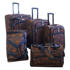 <strong>American Flyer</strong> Budapest 5 Piece Spinner Luggage Set