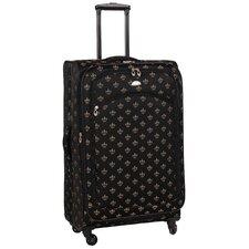 Fleur De Lis 5 Piece Luggage Set